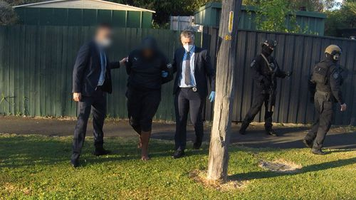 A man has been charged over an alleged murder plot in Sydney.