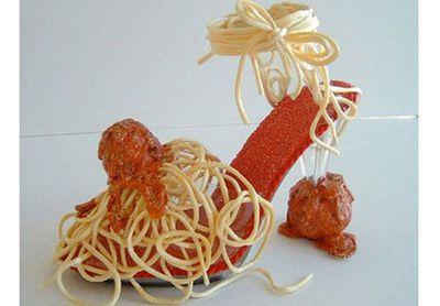 Spaghetti shoe