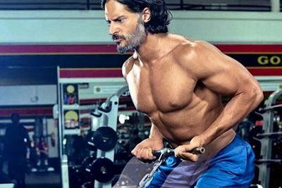 <B>Insta-followers:</b> 315k<br/><br/><b>Why he wins Instagram:</b> If you want a good perve sesh, Joe Manganiello's got the goods for social media. Yep FIXers, we're not even going to pretend we don't like ogling his rippling biceps, ripped abs or perfect buns... because it would be a downright lie. <br/><br/>The winner in all this (besides us?) His new girlfriend <b>Sofia Vergara</b>.