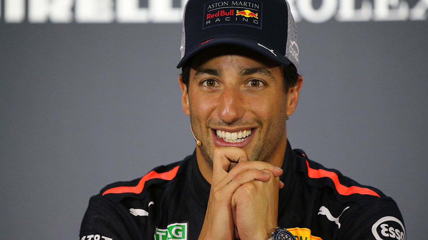 Australian F1 driver Daniel Ricciardo of Red Bull Racing