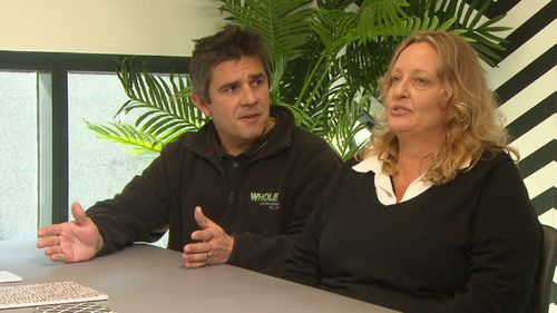 Whole Landscapes is a small business run by husband-and-wife team Tina and Stephen.