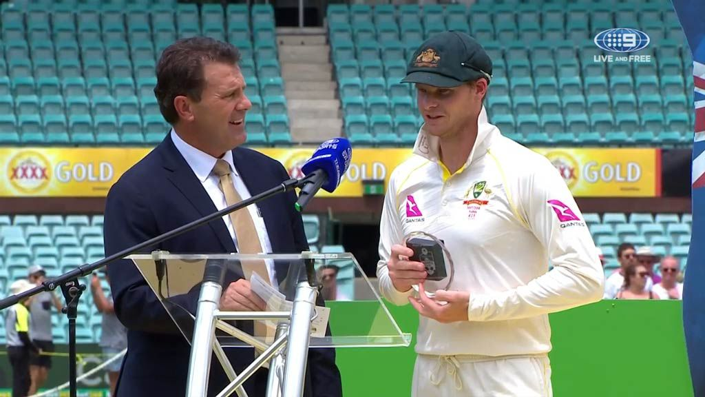 Steve Smith named Ashes man of the series