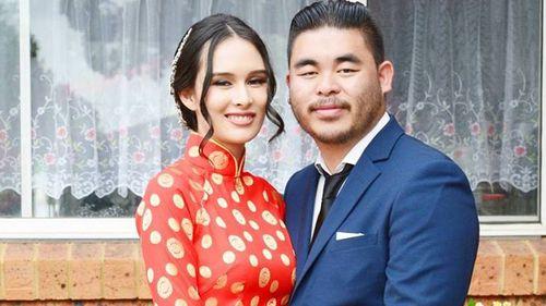 Katherine Hoang and Bronco Hoang.
