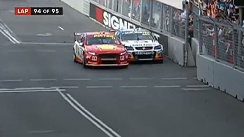 Jamie Whincup wins seventh Supercars title after Scott McLaughlin's penalty-ridden race