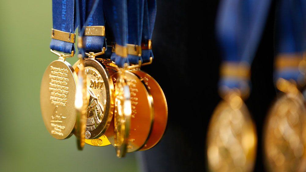 AFL premiership medals.