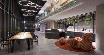Aloft Perth, lobby