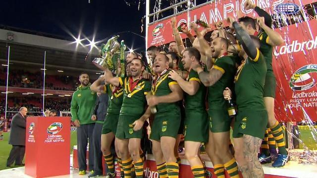 Dominant Kangaroos thrash Kiwis
