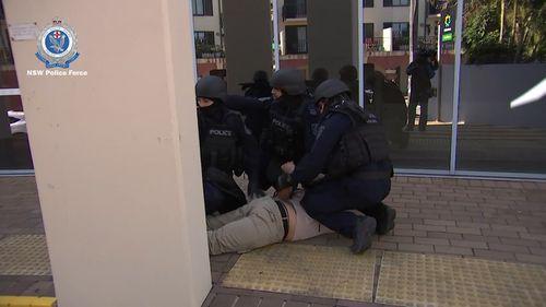 Canterbury gunpoint robbery Burwood arrests crime news Sydney NSW Australia 190717
