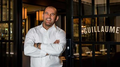 <strong>Guillaume Brahimi at Bistro Guillaume Sydney</strong>