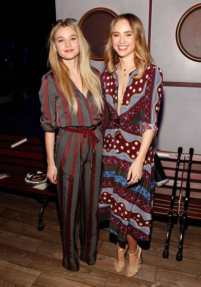 Immy and Suki Waterhouse