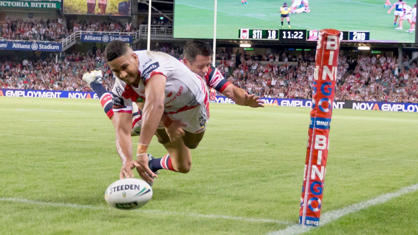 NRL referees boss admits Nene Macdonald try was wrong call