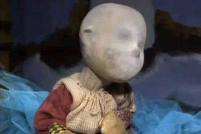 In the first episode of this '90s Australian TV series, a gang of little kids discovered a living rag doll in the trash and were strangely unbothered by its lack of face or speech. Named E.C. — which stood for Every Child — the doll went on to destroy the childrens' minds with godless visions of the terrifying wastes of the universe.