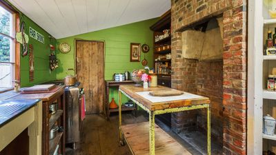 No wood-fired stove in this 161-year-old kitchen, it's been upgraded to something a little more user friendly. (Supplied, Pride Real Estate)