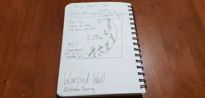 The Warped Wall