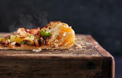 Domino's puff pastry crust