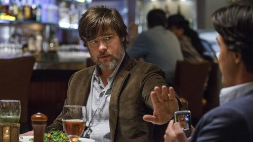 Brad Pitt starred in the Paramount Pictures film 'The Big Short' (AAP).