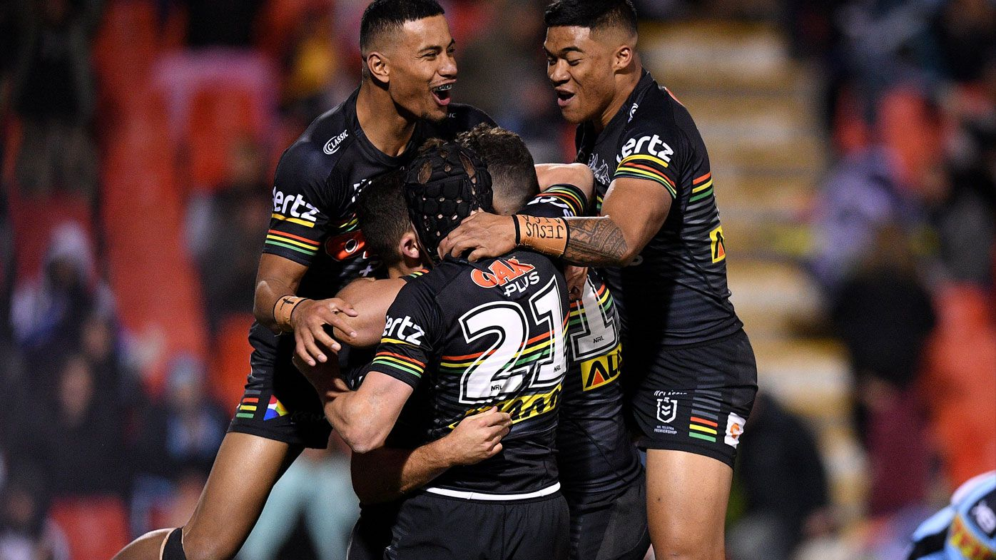 Penrith rookies hold out Cronulla in NRL
