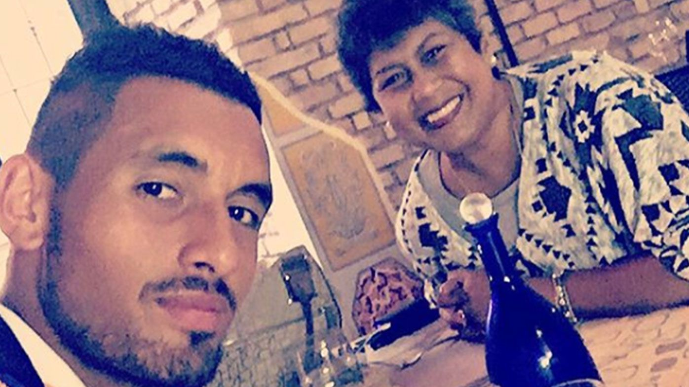 Nick Kyrgios and mother Norlaila