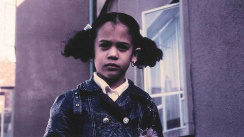 Kamala Harris' campaign tweeted this photo of the candidate as a young girl during the busing era.