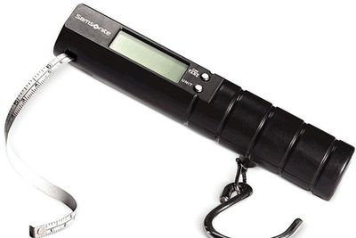 <strong>Samsonite Electronic Luggage Scale, $25</strong>