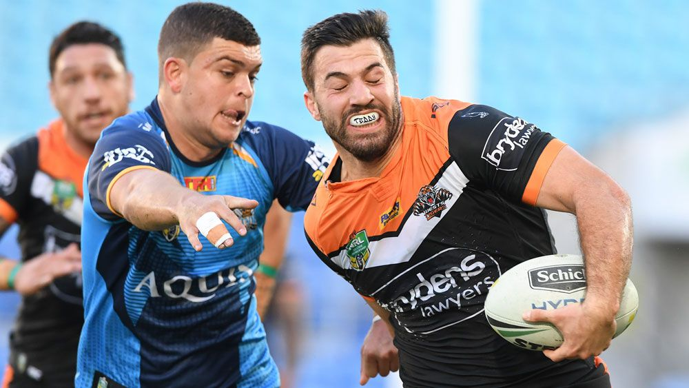 Gold Coast coach Neil Henry says Titans never turned up following loss to Wests Tigers