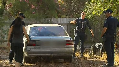 Police have found Travis Kirchner's car. (9NEWS)