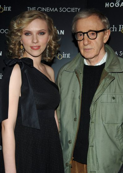 Scarlett Johansson, Woody Allen, movie, premiere