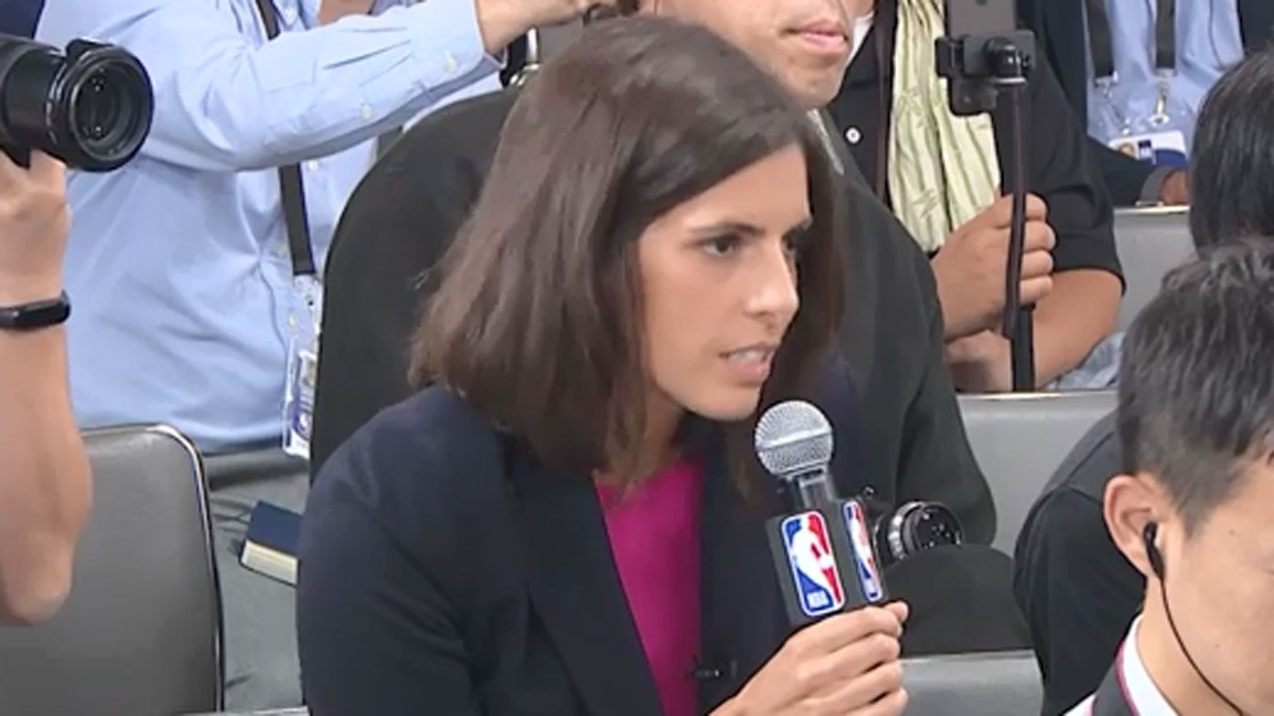 CNN reporter shut down for asking  about NBA's ongoing standoff with China