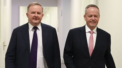 Anthony Albanese and Bill Shorten.