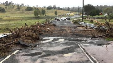 Knopke Bridge on Summerholm Rd is currently closed due to impacts from yesterday's storm, Lockyer Valley Regional Council advised
