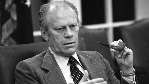 Former President Gerald Ford. (AAP)
