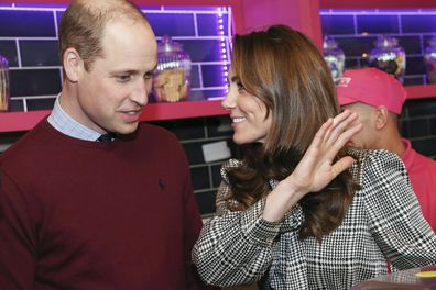 The Duke and Duchess of Cambridge help make Kulfi milkshakes at MyLahores flagship restaurant  in Bradford. PA Photo. Picture date: Wednesday January 15, 2020. MyLahore is a British Asian restaurant chain which has taken inspiration from Lahore, the Food Capital of Pakistan. See PA story ROYAL Cambridge. Photo credit should read: Chris Jackson/PA Wire