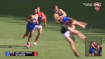 AFL: West Coast Eagles' top-two hopes dealt a blow in loss to Melbourne Demons