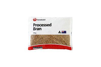 Woolworths Homebrand Processed Bran