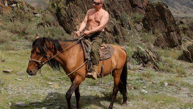 Vladimir Putin not having an off day