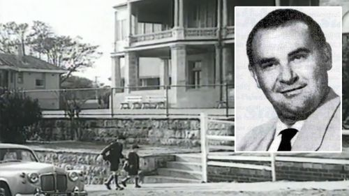 Graeme Thorne was kidnapped by Stephen Leslie Bradley (insert) from outside his house in the beach side suburb of Bondi.