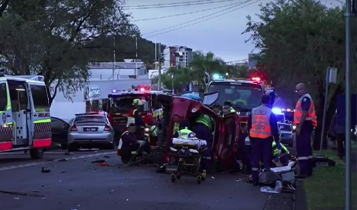 Ms Shaylor's purse was stolen from the crash scene as she took her final breaths. (9NEWS)