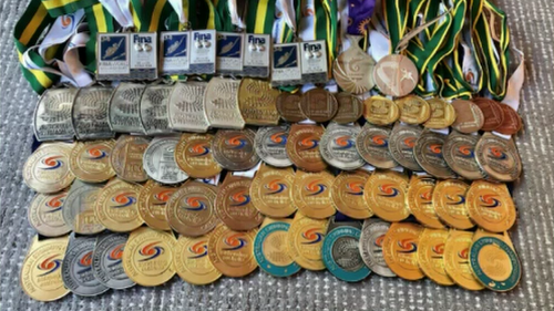Christie was looking to make a big windfall on the medals after buying them for just $300 from Lloyds Auctions.