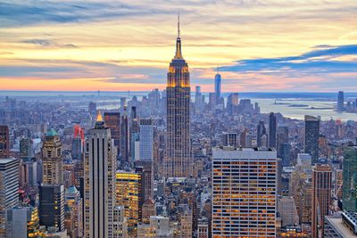 10. Empire State Building in New York City, New York