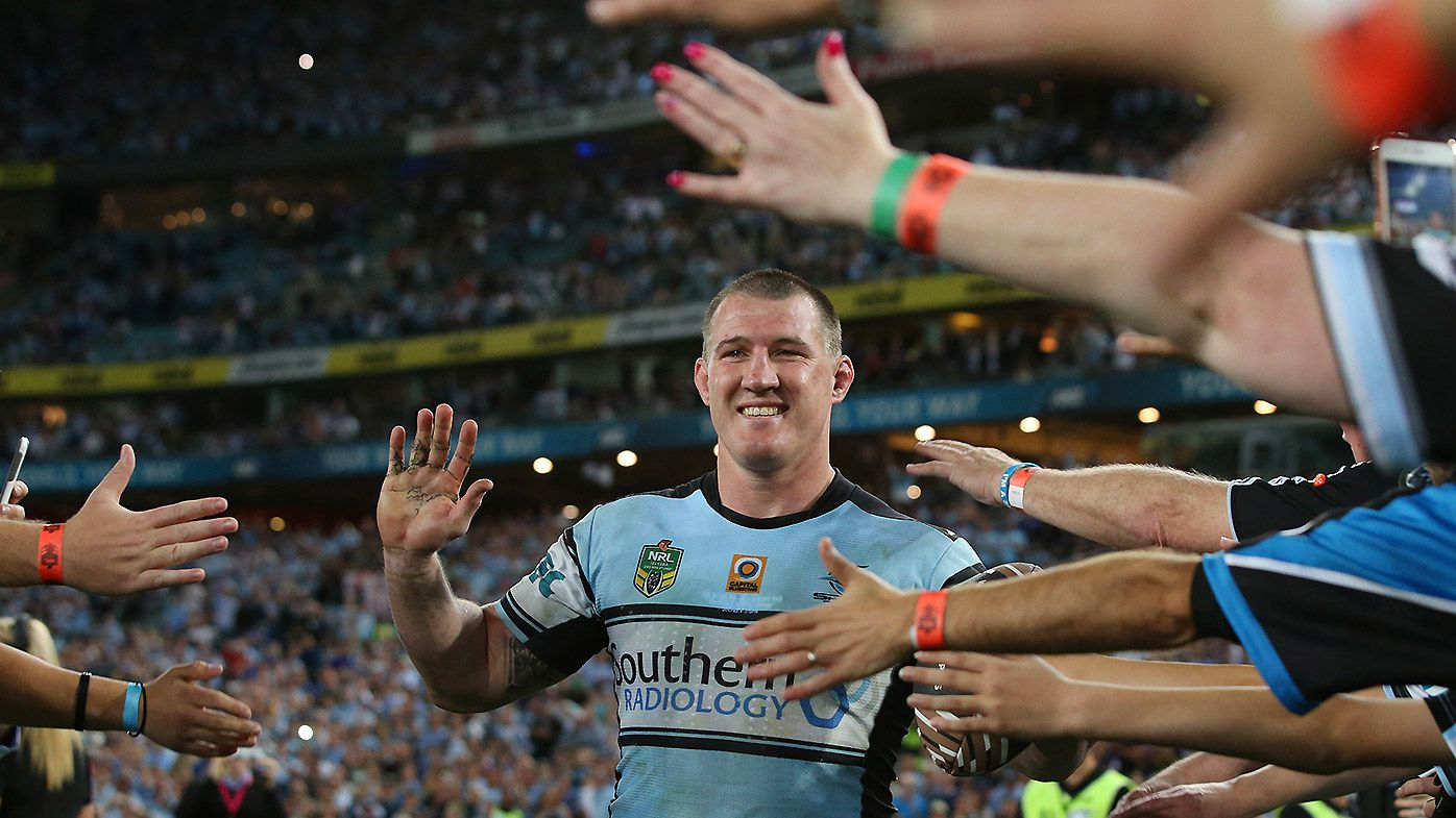 Paul Gallen of the Sharks