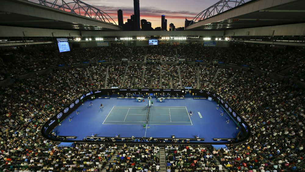 Alarm causes chaos at Australian Open before quarter-final match