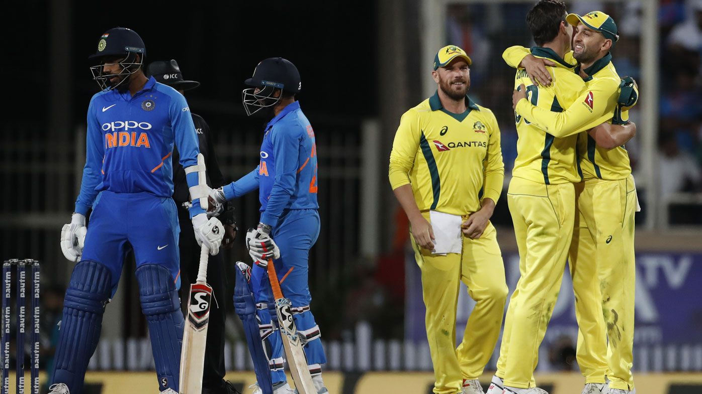 Finch and Zampa outstanding as Aussies outclass India to keep series alive