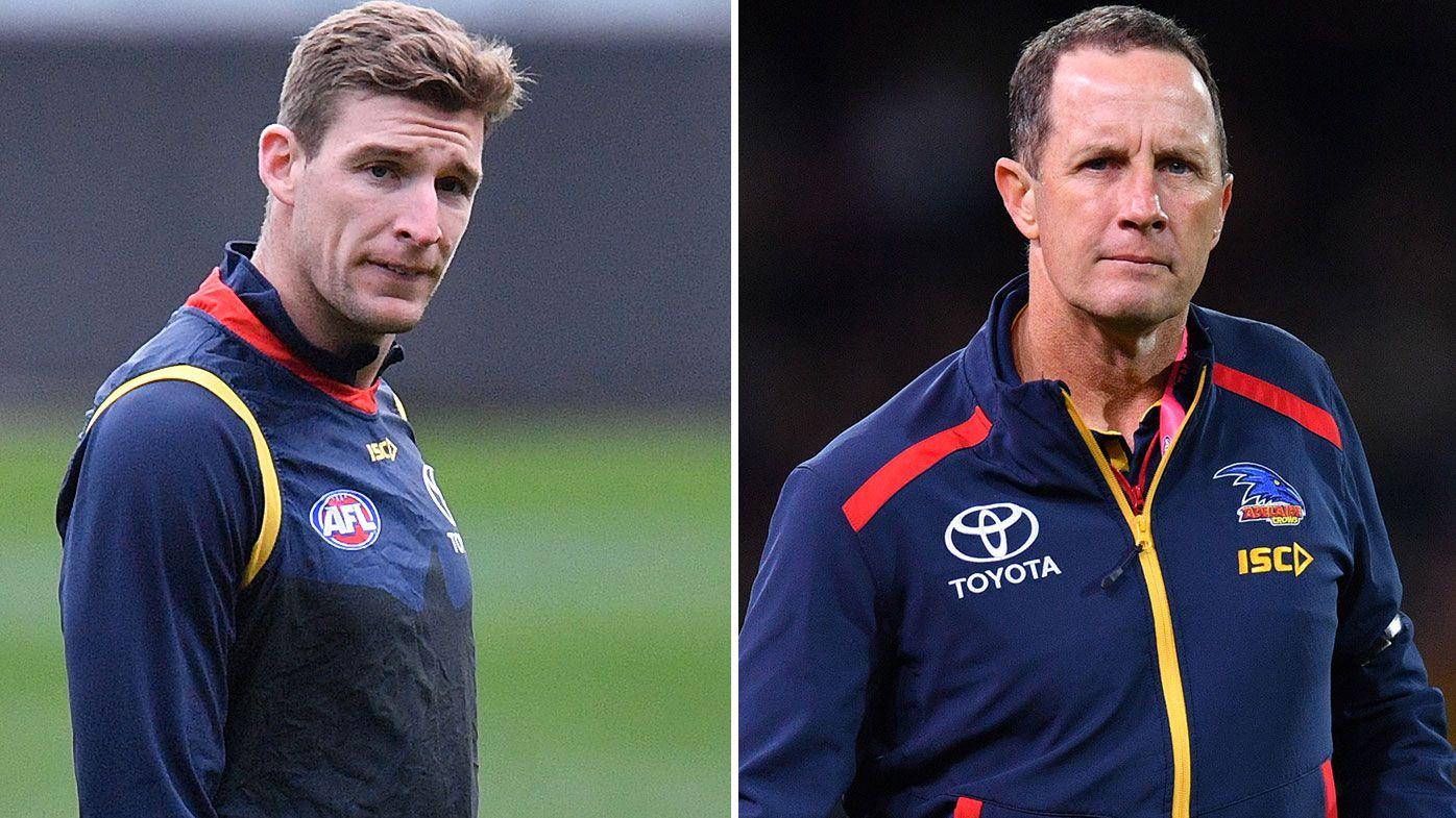 'It just got out of hand': Adelaide star Josh Jenkins puts rumours of rift with coach Don Pyke to bed