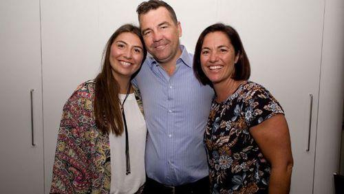 Matt, Anne and their eldest daughter Madison.