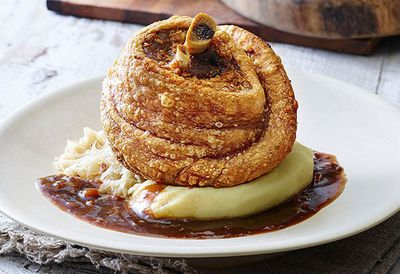 """<a href=""""http://kitchen.nine.com.au/2016/05/05/11/12/bavarian-bier-cafs-roasted-pork-knuckle"""" target=""""_top"""">Roasted pork knuckle</a>"""