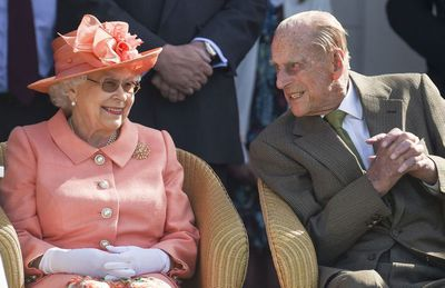 Her Majesty and Prince Philip at the polo, June
