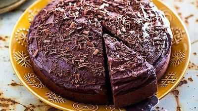 "Recipe:&nbsp;<a href=""http://kitchen.nine.com.au/2016/05/05/13/26/boiled-chocolate-cake"" target=""_top"">Boiled chocolate cake</a>"