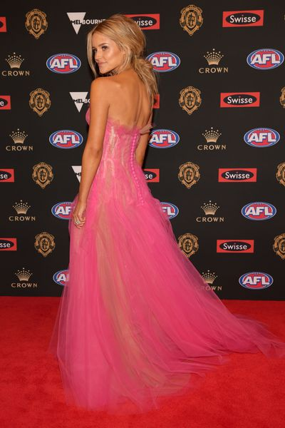 Jessie Murphy, partner of Carlton's Marc Murphy, at the 2018 Brownlow Medal, September, 2018