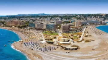 The Greek Island of Rhodes is a popular family destination.