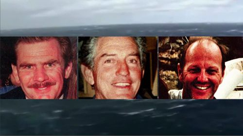 John Dean, James Lawler and Michael Bannister were lost at sea.